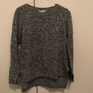 H&M Grey And Black Sweater